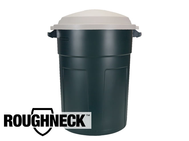 Rubbermaid 2894 Roughneck Non-Wheeled Trash Can, 32 Gallon, Evergreen at Sears.com