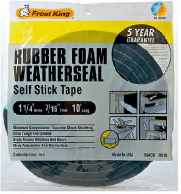 "Thermwell Foam Tape 1-1/4""x7/16"" at Sears.com"