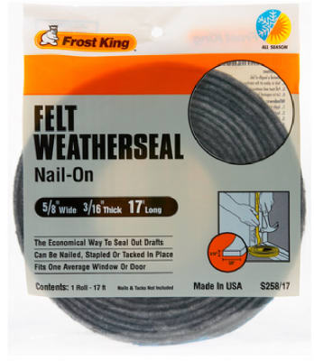 Thermwell Multi-Purpose Weather Strip 5/8''x3/16'' at Sears.com