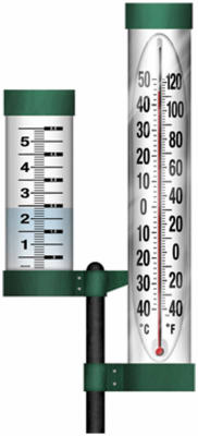 Taylor Outdoor Thermometer/Magnifying Rain Gauge at Sears.com