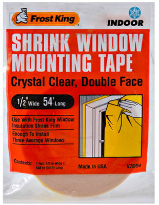 "Frost King Indooer Insulation Mounting Tape, 1/2""x54' at Sears.com"
