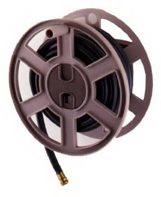 Suncast SWA100 Sidewinder Poly Wall Mount Hose Reel at Sears.com