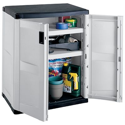 "Suncast ""Suncast"" Utiliutility Storage Cabinet 36"" (Black & Gray) at Sears.com"