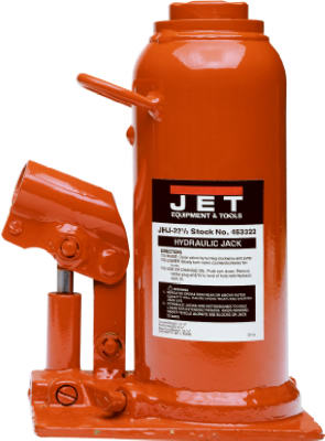 Jet Equipment 12-1/2-Ton Capacity Heavy-Duty Industrial Bottle Jack at Sears.com