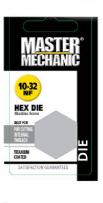 "The Mibro ""Master Mechanic"" Metric Hex Die 10Mm - 1.50 at Sears.com"