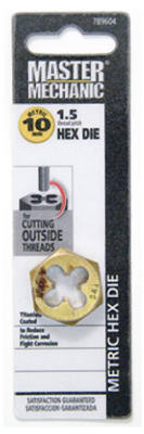 Master Mechanic 789604 Metric Hex Die, 10mm - 1.50 at Sears.com