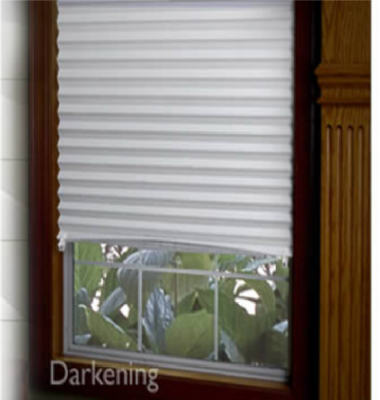 "Redex Room Darkening Instant Pleated Window Redi-Shade 36"" X 72"" - White at Sears.com"