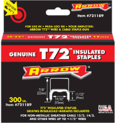 Arrow Fastener T72 Insulated Staples at Sears.com