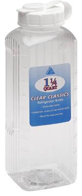 Arrow Plastic 146 Classics Oversized Refrigerator Bottle 1-1/4 Qt, Clear at Sears.com
