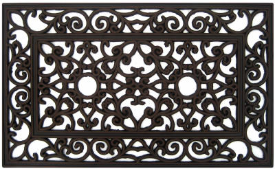 "Palm Fibre Private Lim Rubber Door Mat 18"" X 30"" Bronzed at Sears.com"