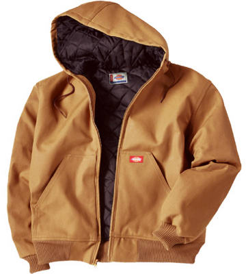 Williamson-Dickie Mfg Men's Hooded Jacket, 2X-Large, Brown Duck at Sears.com
