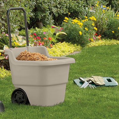 Suncast Poly Lawn & Garden Utility Cart, 3 Cuft Capacity at Sears.com