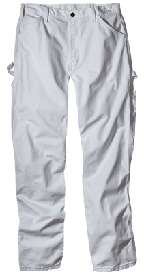 "Williamson Dickie ""Dickies"" Durable Painter's Pants 30"" x 32"" (White) at Sears.com"