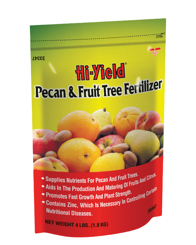 Hi-Yield 33347 Pecan and Fruit Tree Fertilizer, 12-4-4, 4 lb at Sears.com