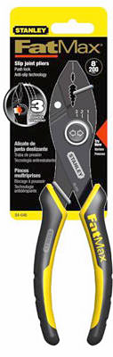"""Stanley 84-645 Fatmax Slip Joint Pliers, 6"""" at Sears.com"""