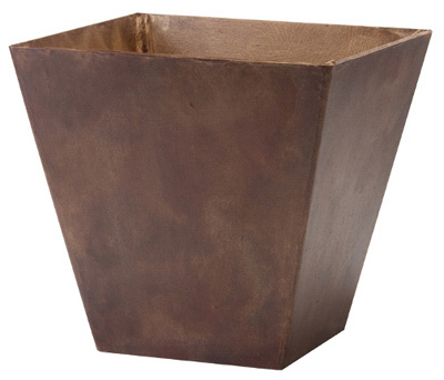 "Novelty 35147 Ella Square Planter 14"", Teak at Sears.com"