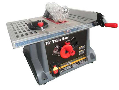 "Master Mechanic MJ10250A Table Saw 10"", 13Amp, 4500 RPM Motor at Sears.com"