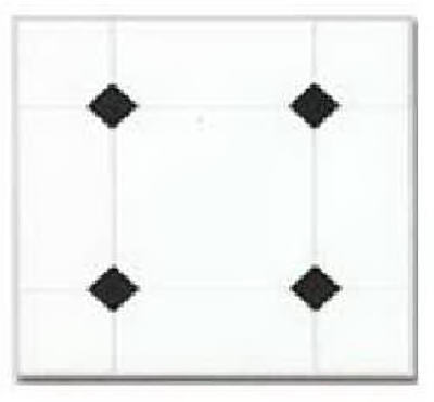 Max KD0309 Peel & Stick Vinyl Floor Tile, 12'' x 12'' at Sears.com