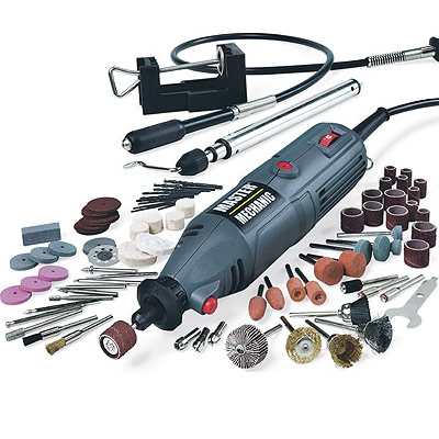 Master Mechanic 152294 Rotary Tool Kit, 1.3 Amp (100-Piece) at Sears.com