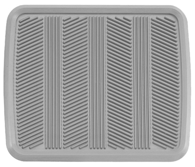 Kraco Enterprises K2510A75 Heavy Duty Rubber Rear Mat, Gray at Sears.com