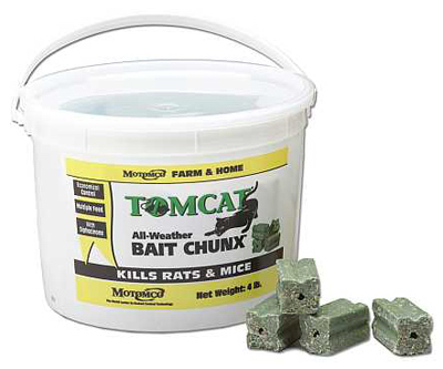Tomcat 32444 Chunx Rodent Bait, 4 Lb at Sears.com