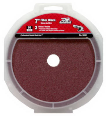 "Master Mechanic 3083-003 Fiber Sanding Disc 7"" x 7/8"", Pack/3 at Sears.com"