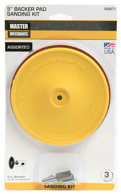 "Master Mechanic 3050-003 Sanding Disc Kit, 5"" at Sears.com"