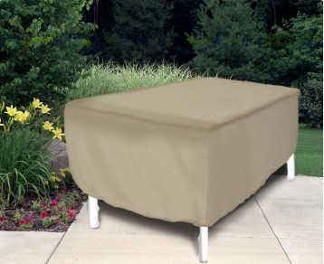 """Protective Covers 1152 Oval/Rectangular Patio Table Cover 60"""" - 66"""",Tan, Vinyl at Sears.com"""