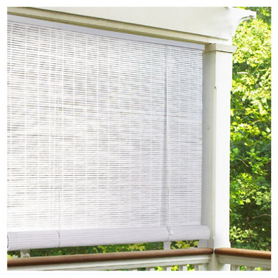 "Lewis Hyman 0320146 PVC Roll Up Blind 48""W x 72""L, White at Sears.com"