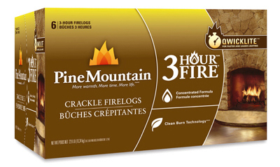 Pine Mountain 4152501321 3 Hour Crackling Fire Log, (6-Pack) at Sears.com