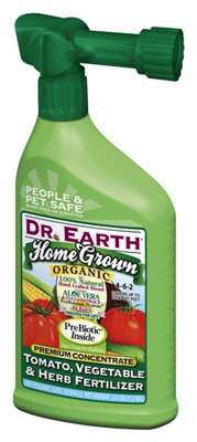Dr. Earth 1017 Home Grown Tomato, Vegetable & Herb Fertilizer, 32 Oz at Sears.com