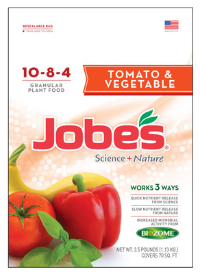 Jobes 59036 Synthetic Tomato & Veggie Fertilizer, 3.5 lb at Sears.com