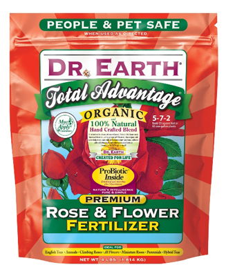 Dr. Earth 702P Total Advantage Rose & Flower Fertilizer 4 LB, 5-7-2 at Sears.com