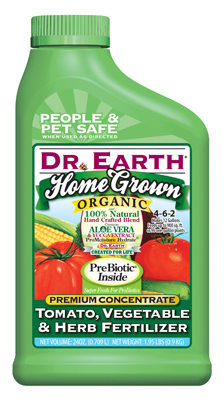 Dr. Earth Home Grown Tomato, Vegetable & Herb Fertilizer 24 oz, 5-7-3 at Sears.com