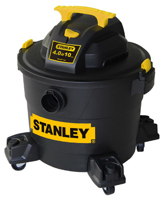 Stanley 8201001 Portable Wet/Dry Vacuum 10 Gallon, 4.0 Peak HP at Sears.com