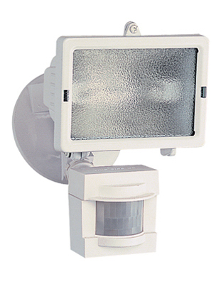 Heath Zenith Motion Activated Security Halogen Light, 150W, White at Sears.com