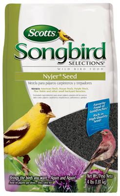 Scotts 1017170 Songbird Selections Nyjer Seed Bird Food, 4 lb at Sears.com