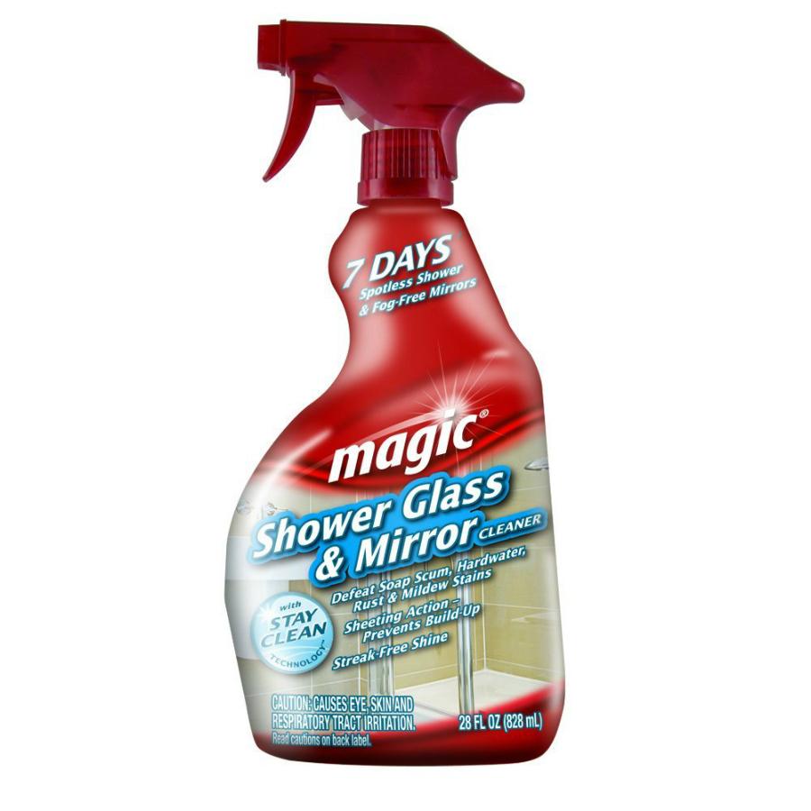 Magic 3073 Shower Glass & Mirror Cleaner, 28 Oz