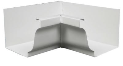"Amerimax 27201 Aluminum Inside Mitre 5"", White at Sears.com"