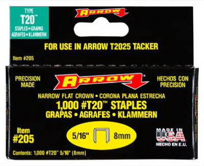 "Arrow Fastener T-20 Staple 5/16"" at Sears.com"