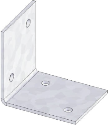 """USP Structural Connectors """"Usp"""" Joist Angle Galvanized Steel 1-1/2"""" at Sears.com"""